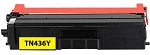 Compatible Brother TN-436 Yellow Toner Cartridge