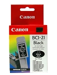 Genuine Canon BCI-21 Black Ink Cartridge