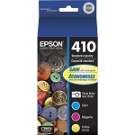 Genuine Epson 410 Ink Cartridge - 4 Pack