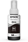 Genuine Epson 664 Black Ink Bottle