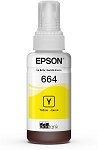 Genuine Epson 664 Yellow Ink Bottle