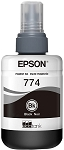 Genuine Epson 774 Black Ink Bottle
