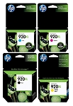 Genuine HP 920XL Ink Cartridge - 4 Pack