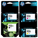 Genuine HP 920XL 920 Ink Cartridge - 4 Pack