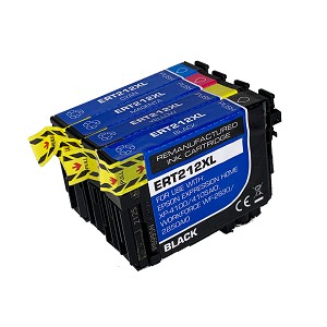 4 Pack Remanufactured Epson 212 212XL Ink Cartridge
